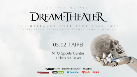 Dream Theater - Distance Over Time in Taipei